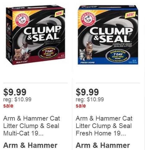 Arm & hammer cat litter coupons