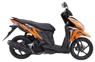 Sepeda Motor Honda Vario Techno 125cc pgm-fi / injeksi pilihan warna orange