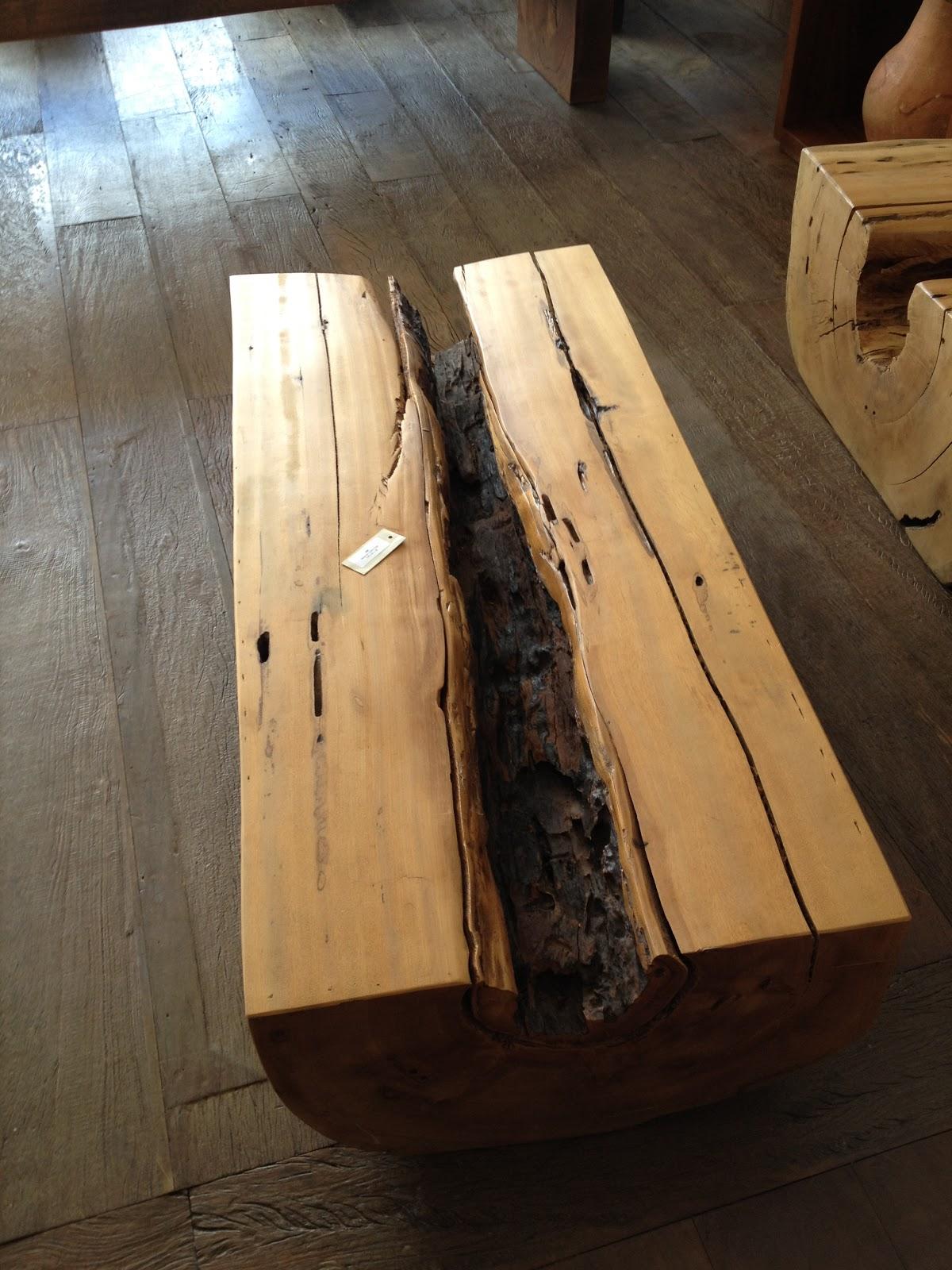 Tronco de madeira Pequiá para mesas de centro. #9D6F2E 1200x1600 Bancada Banheiro Teca