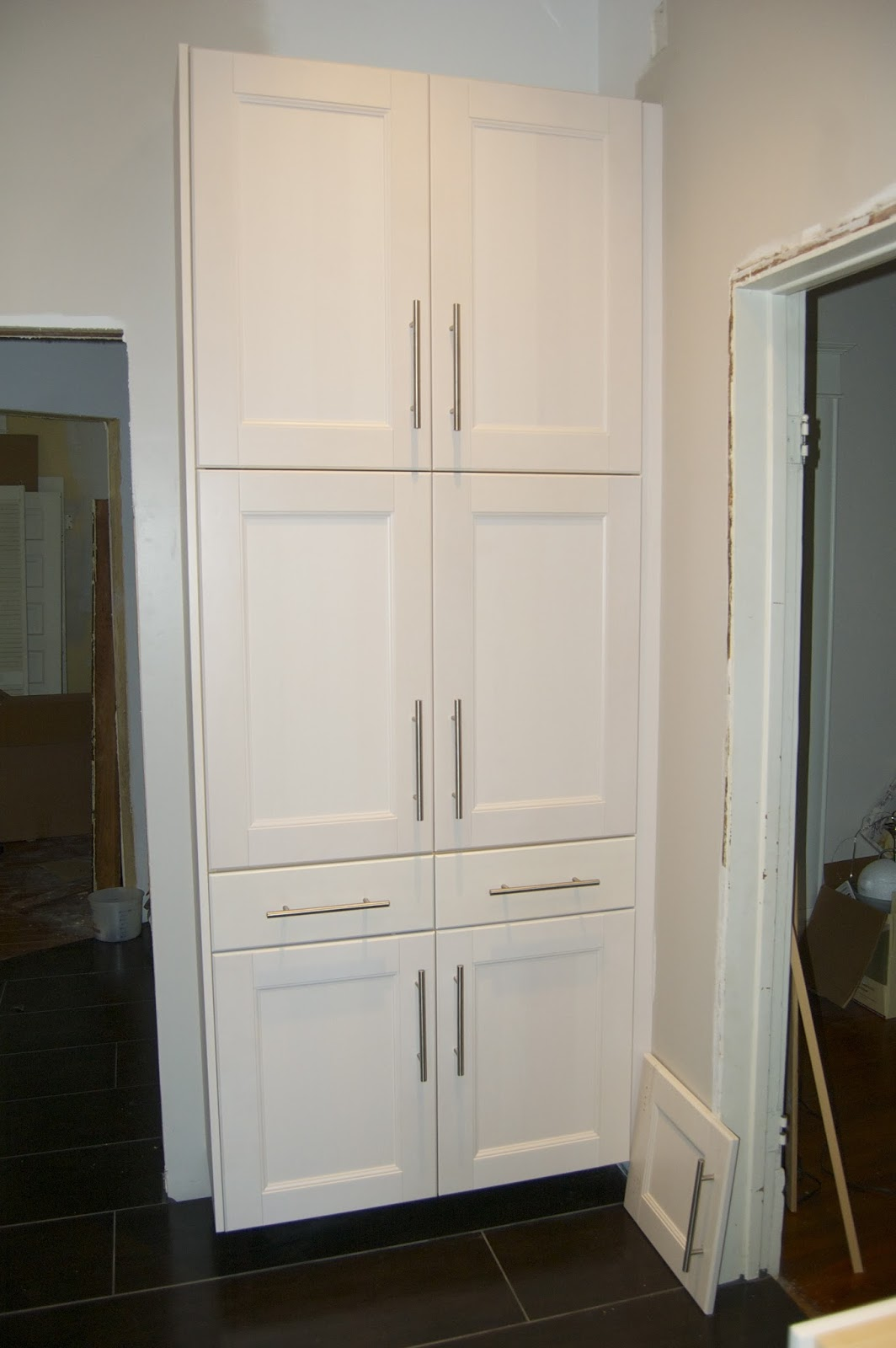 My journey from kitchen dream to kitchen reality for Kitchen pantry cabinet