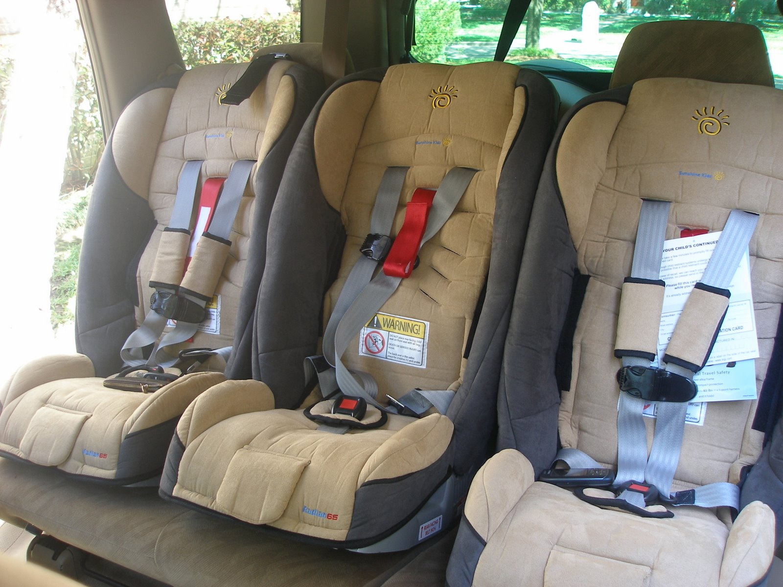 Surviving Triplets Car Seat Confessions