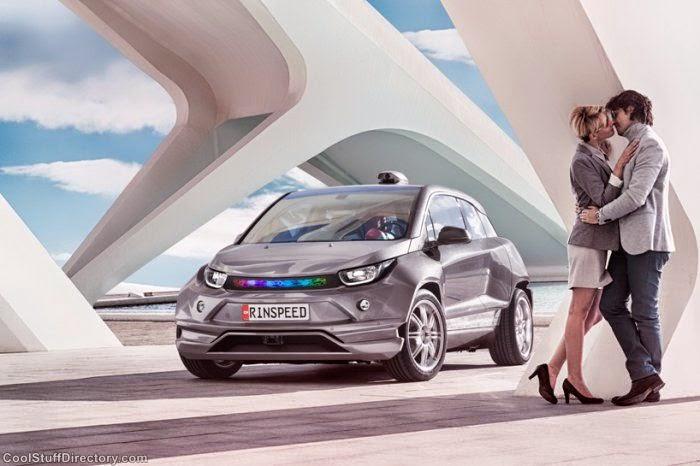 Rinspeed Budii Autopilot Car BMW i3 Concept