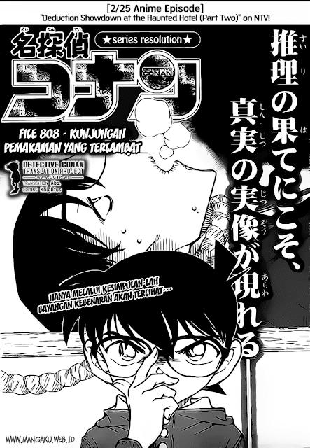 Baca Komik Detective Conan 808 Bahasa Indonesia