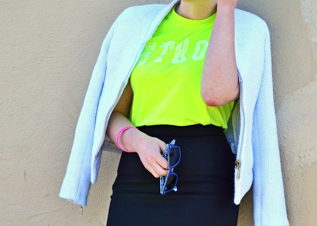 sports luxe, baseball cap, how to, style, blonde, fleur d'elise, neon, j.crew, spring 2013