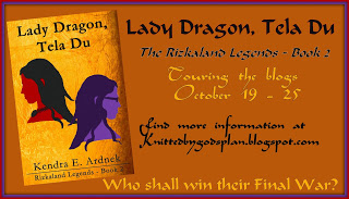 Lady Dragon Tela Du Blog Tour