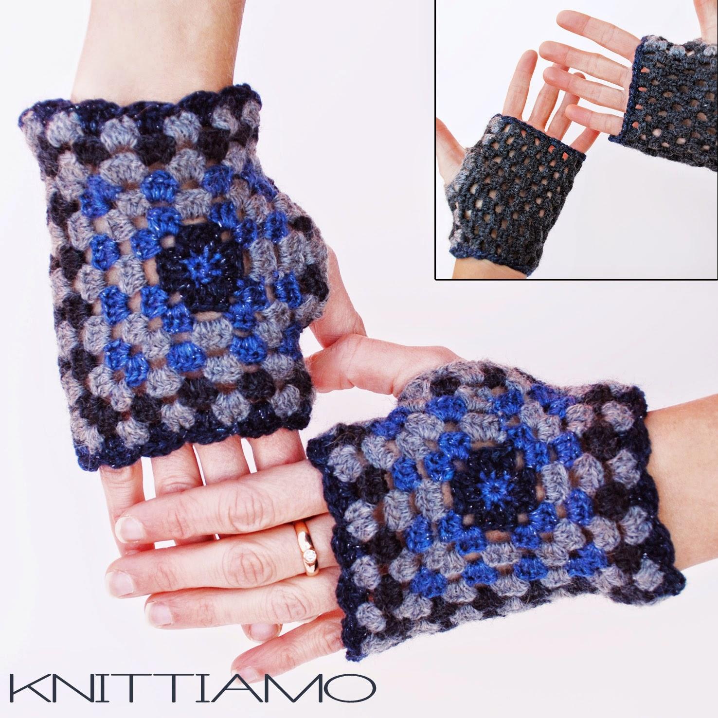 tutorial knittiamo guanti