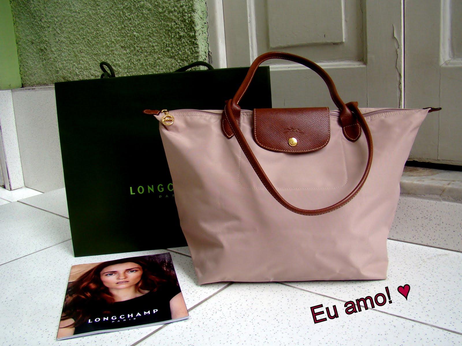 Bolsa Longchamp Branca : ?rea vendida bolsa le pliage longchamp