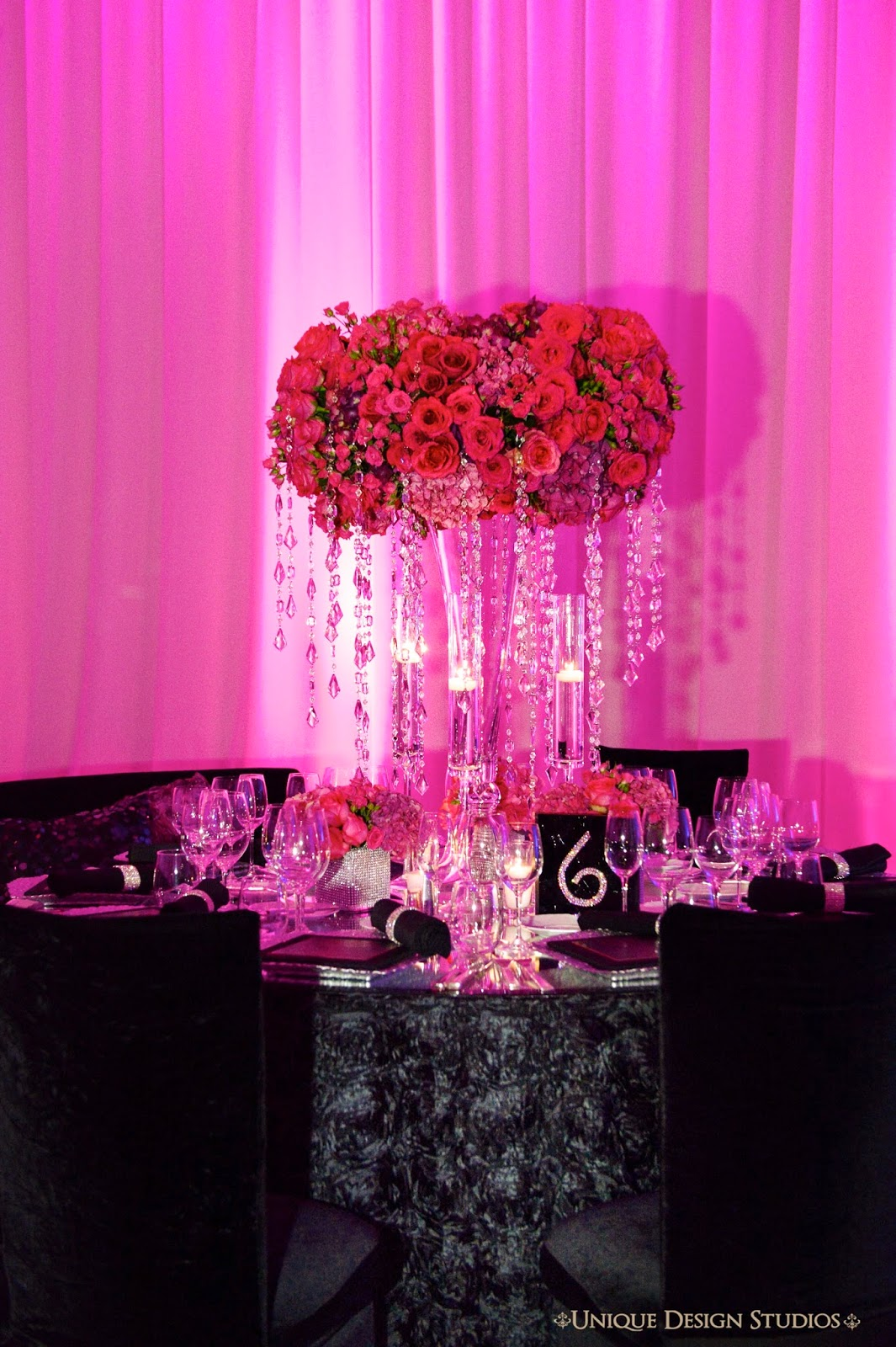 Tiffany Cook Events Omg Las Vegas Wedding Reception Designed By