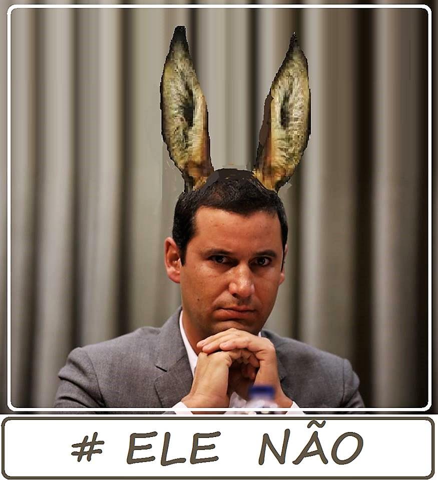 #Ele, não!