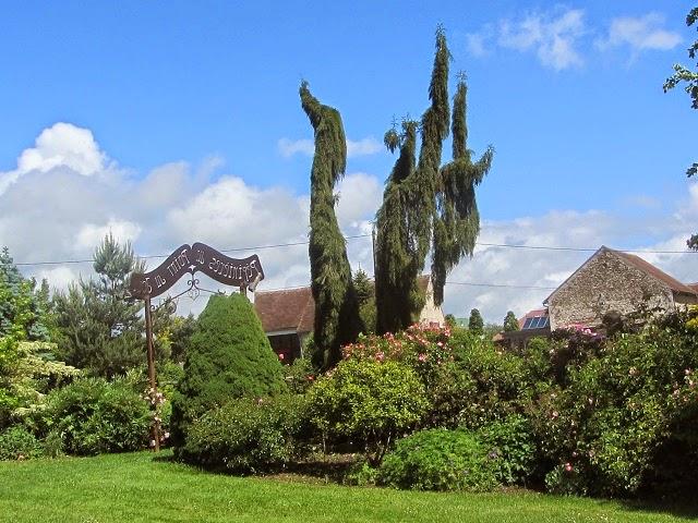 le vieux clos le jardin p pini re du point du jour