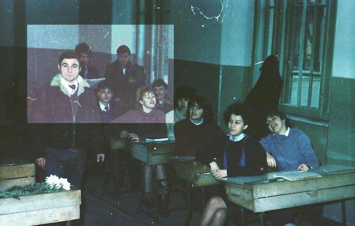 Profesor fizica Ion MANEA Olivia Marcov cl 12 V 1986 Liceul N Balcescu Colegiul Sf SAVA Bucuresti