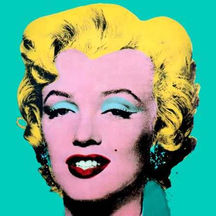 pop art marilyn monroe by andy warhol superstar. Black Bedroom Furniture Sets. Home Design Ideas