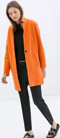 abrigo mujer Zara primavera 2014