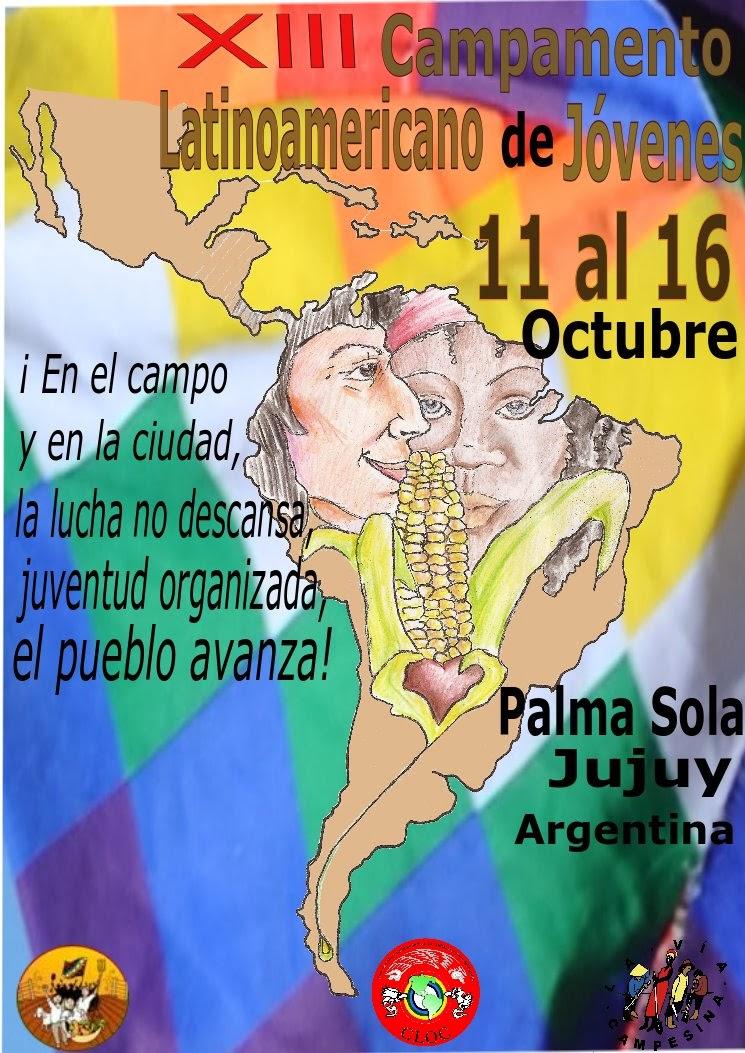 XIII Campamento Latinoamericano de Jóvenes