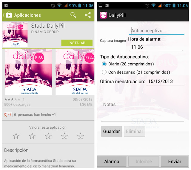 Stada Daily Pill android