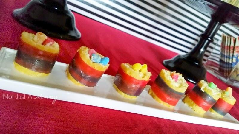 Big Hero 6 Movie Watching Party Twinkie sushi