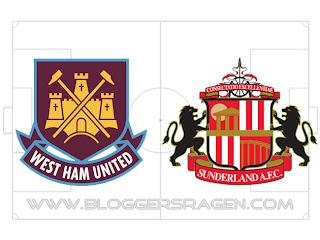 Prediksi Pertandingan West Ham United FC vs Sunderland AFC