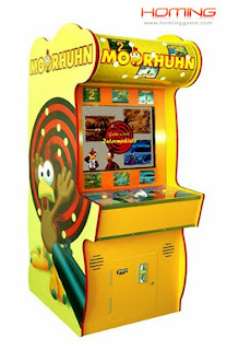 Moorhuhn redemption game machine