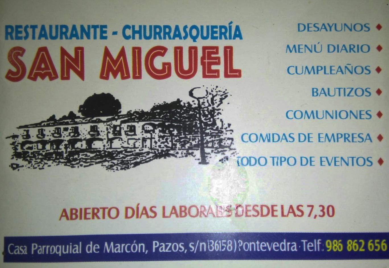 RESTAURANTE-CHURRASQUERIA SAN MIGUEL