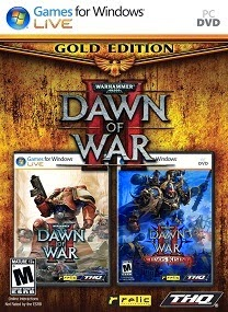 Warhammer 40.000 Dawn of War II Gold Edition-PROPHET logo cover