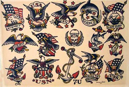 Tattoo designs american traditional tattoos for American classic tattoos