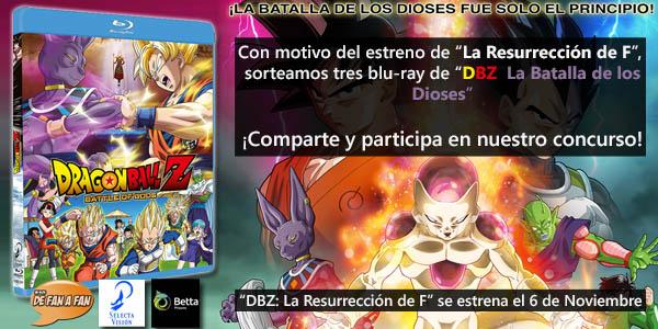 """Concurso """"DBZ Batalla de los Dioses"""""""