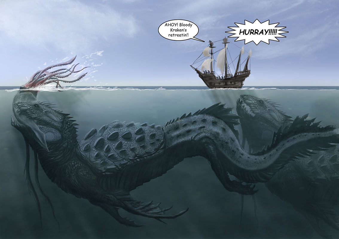 Logical Mystery...: Sea Monsters of the Lake… Not Just for Oceans Anymore.