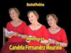 REPORTAXE FOTOGRÁFICA HOMENAXE CANDELA FERNÁNDEZ MOURIÑO
