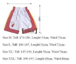Tallas pantalones