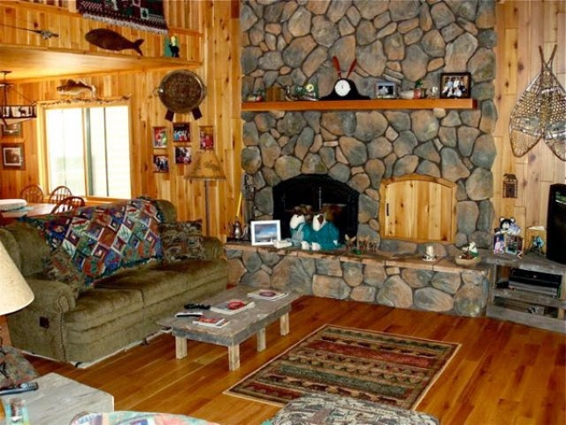 Rustic living room design ideas