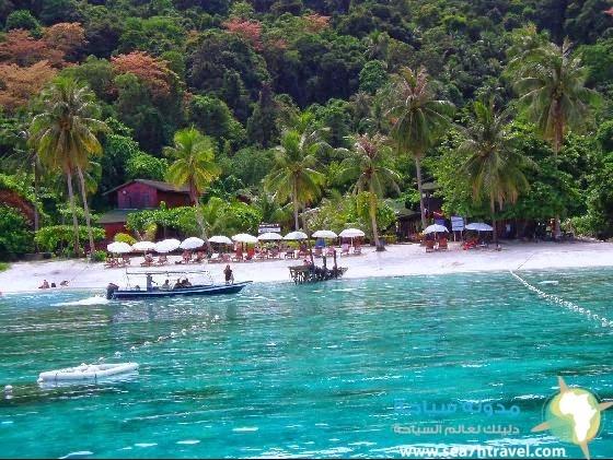 جزيرة لانج تينغا الماليزية