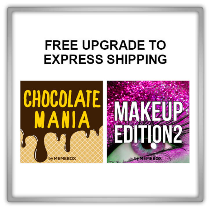 Memebox Special #45 Chocolate Mania Superbox #64 Makeup Edition #2 valueset 미미박스 Commercial