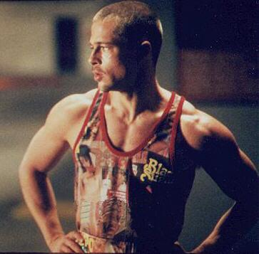 brad pitt fight club buzz cut - photo #27