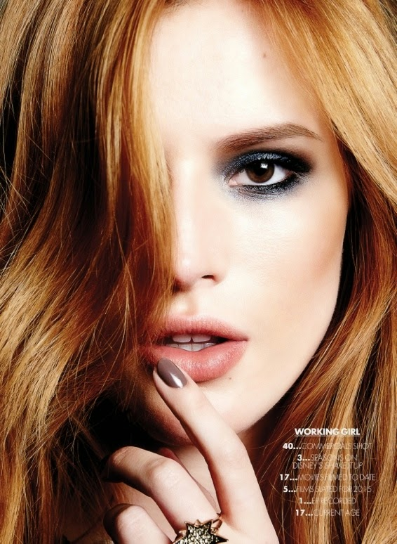 Bella Thorne goes stylish for Elle Canada's May 2015 issue