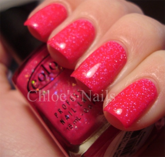 Hot Bright Pink Creme Shimmery