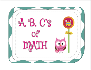 Teaching with moxie s abc s of math freebie