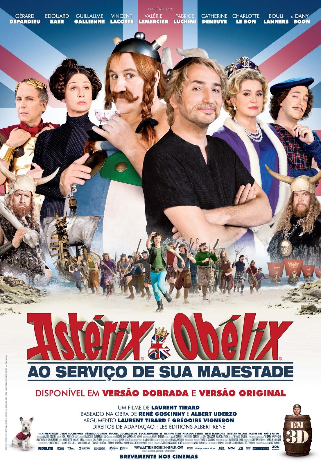 Asterix e Obelix – A Serviço de sua Majestade Legendado