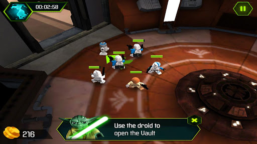Lego Star Wars the Yoda Chronicles en Android