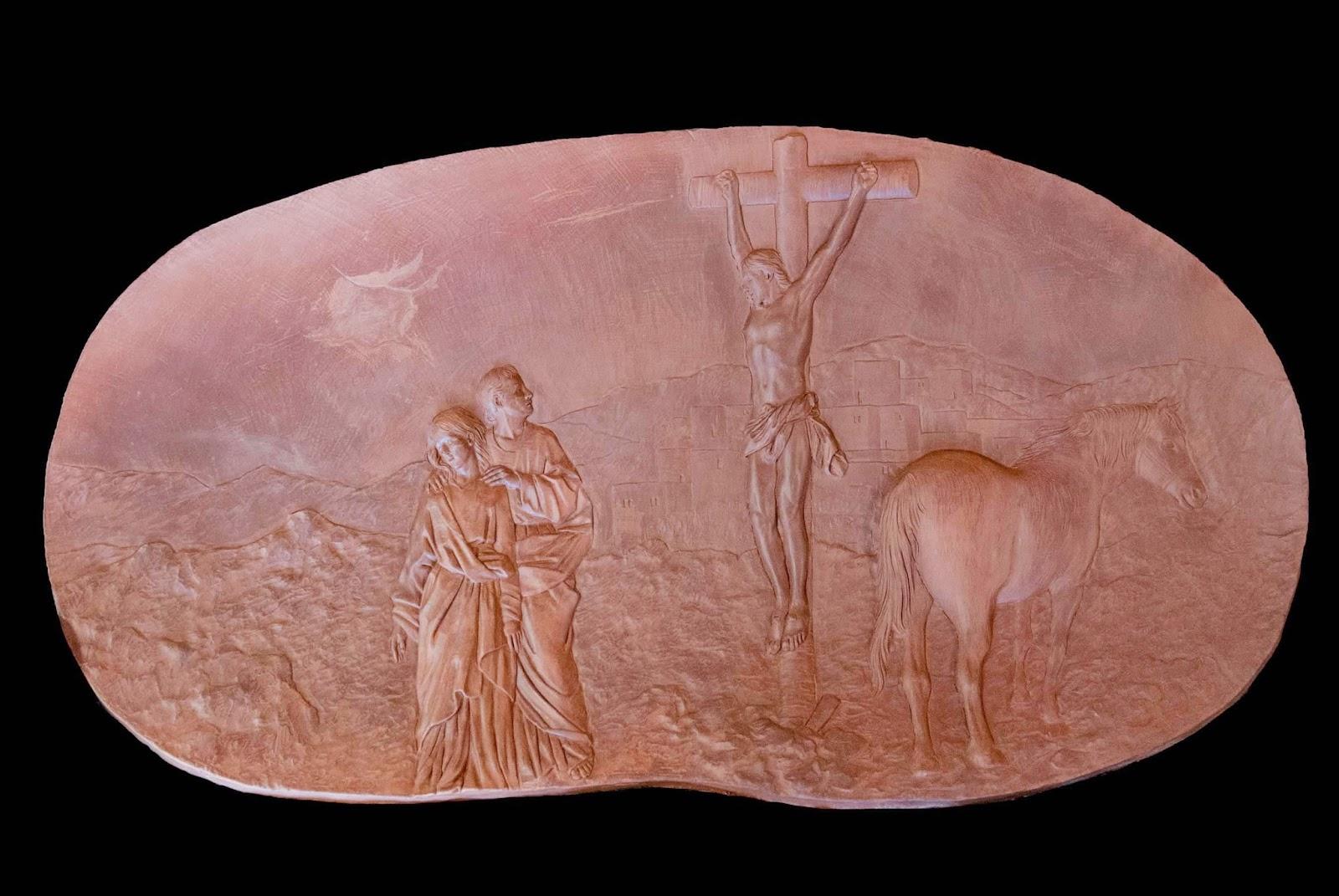 Trono Soledad Semana Santa Cartagena Murcia Arturo Serra escultura 23