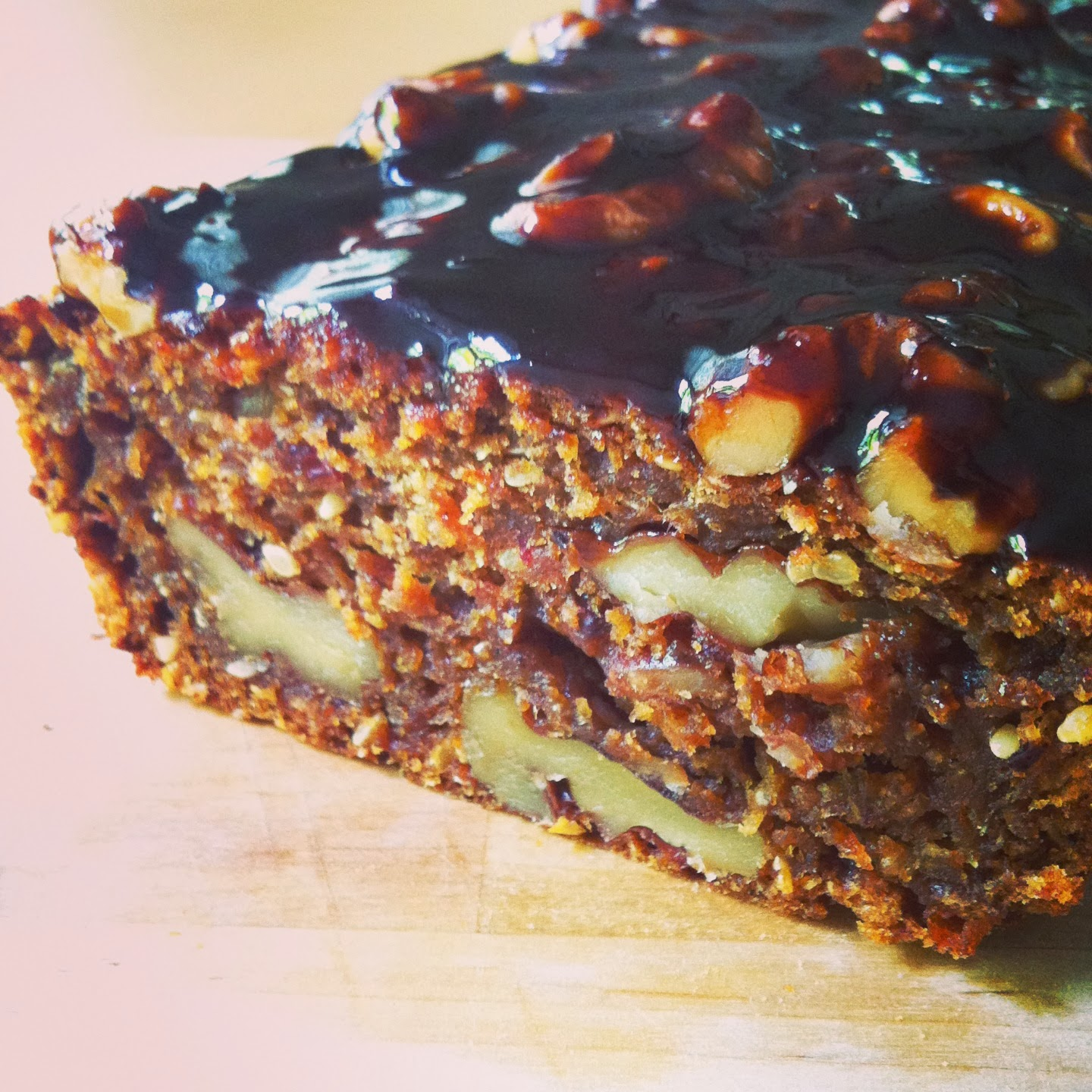 Alice Bakes a Cake: Spiced coffee, date and pomegranate loaf