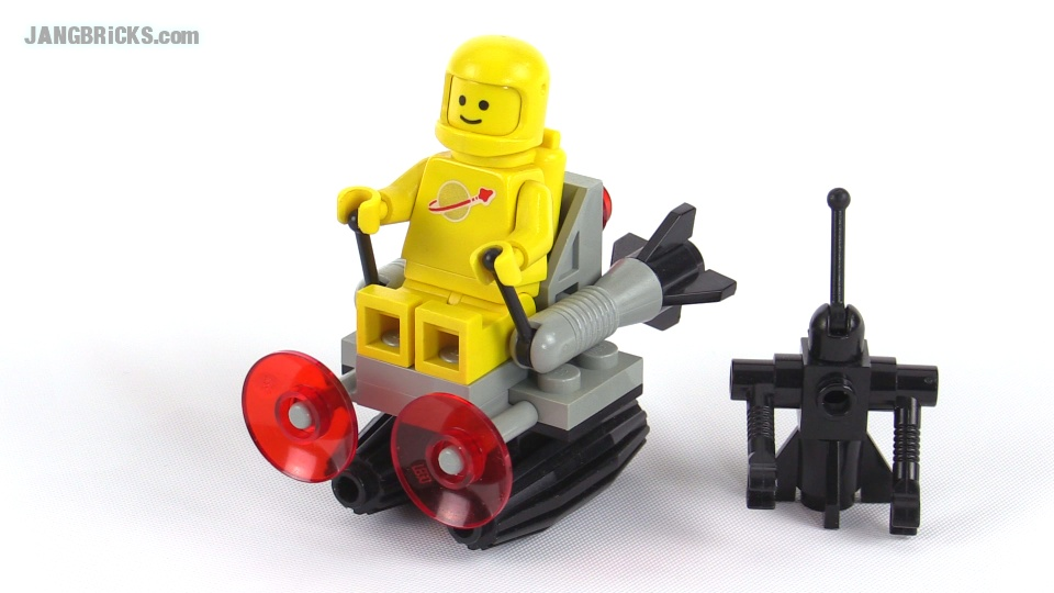 LEGO Classic Space Scooter From 1985 Set 6807
