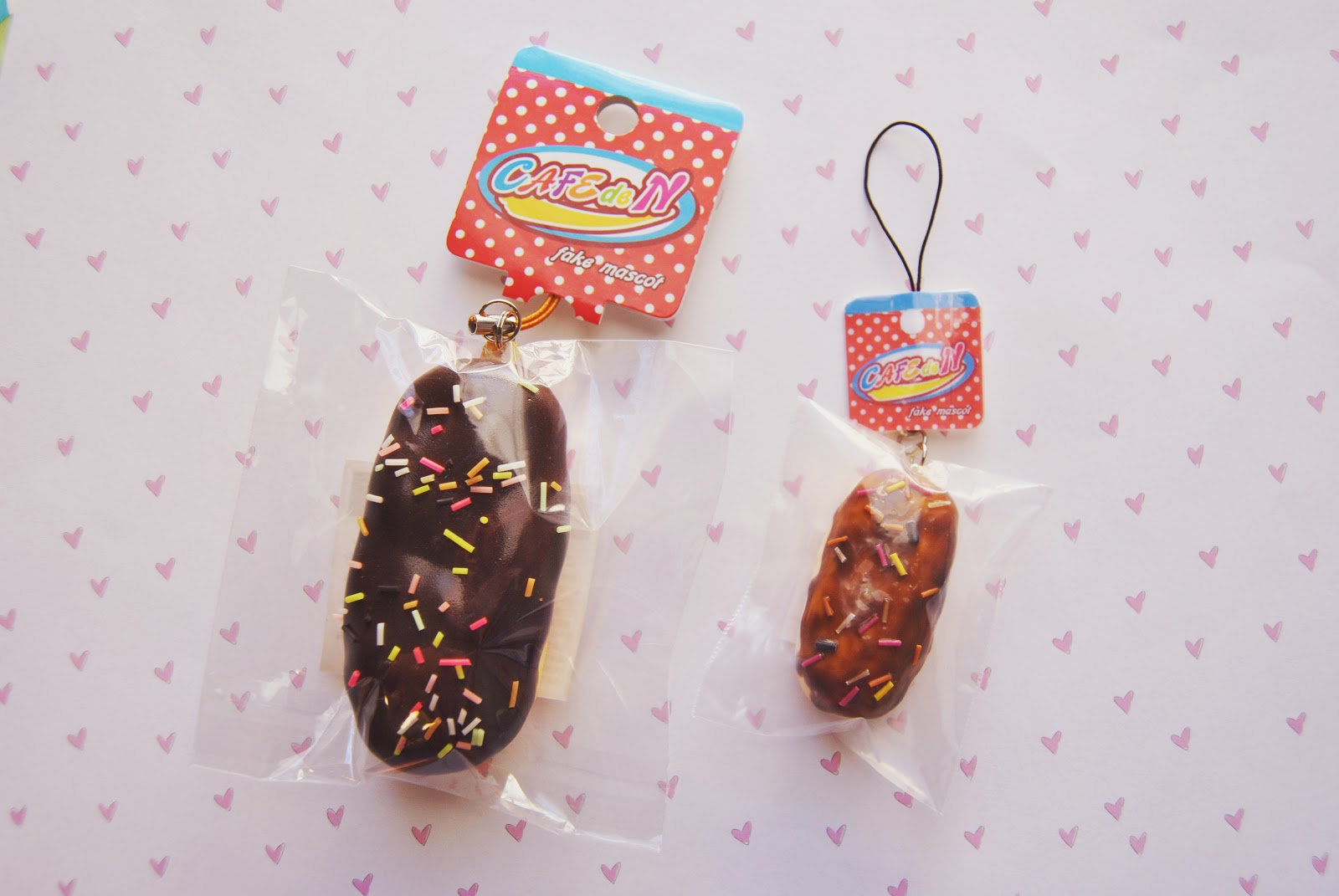 Cafe De N Eclair Squishy : pasteltinted: Cafe De N Eclair Squishy-Inspired Charms