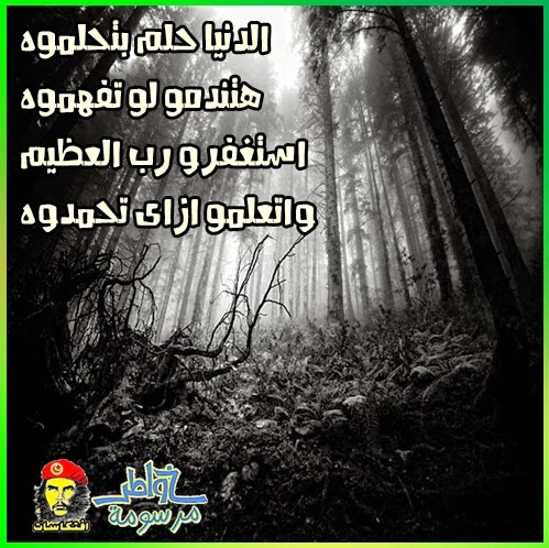 الدنيا حلم بتحلموه هتندمو لو تفهموه استغفرو رب العظيم واتعلمو ازاى تحمدوه