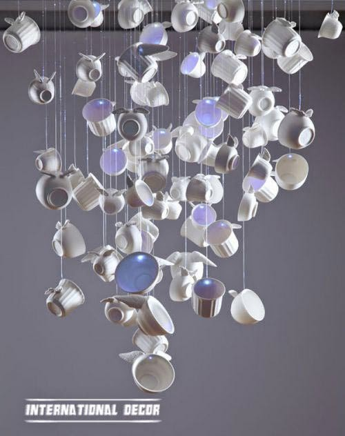original and unique chandeliers for kitchen