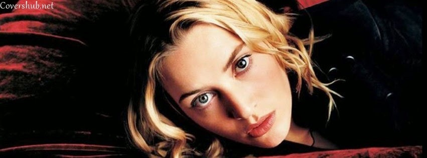 Facebook Cover Of Kate Winslet Beautiful Eyes.