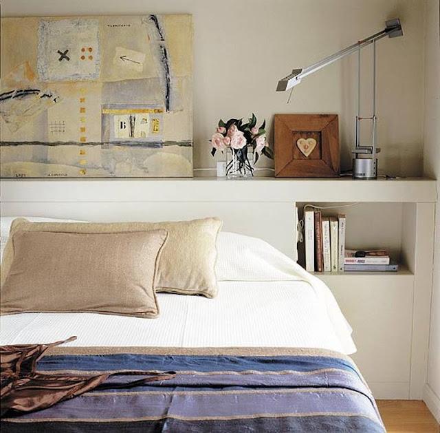Planos low cost un dormitorio con forma irregular - Pared cabecero dormitorio ...