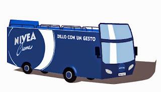 expo nivea blue bus informazioni