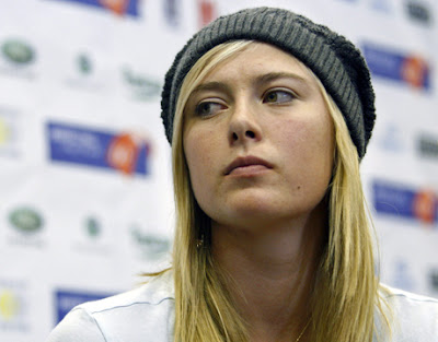 Sharapova on Maria Sharapova