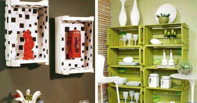 Hazlo tú mismo  Muebles con cajas  Construccion y Manualidades