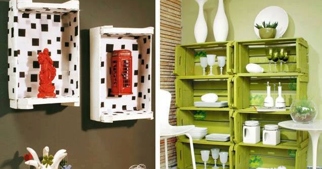 Hazlo t mismo muebles con cajas construccion y - Manualidades con muebles ...